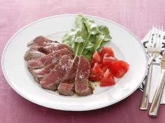 牛ステーキのタリアータ